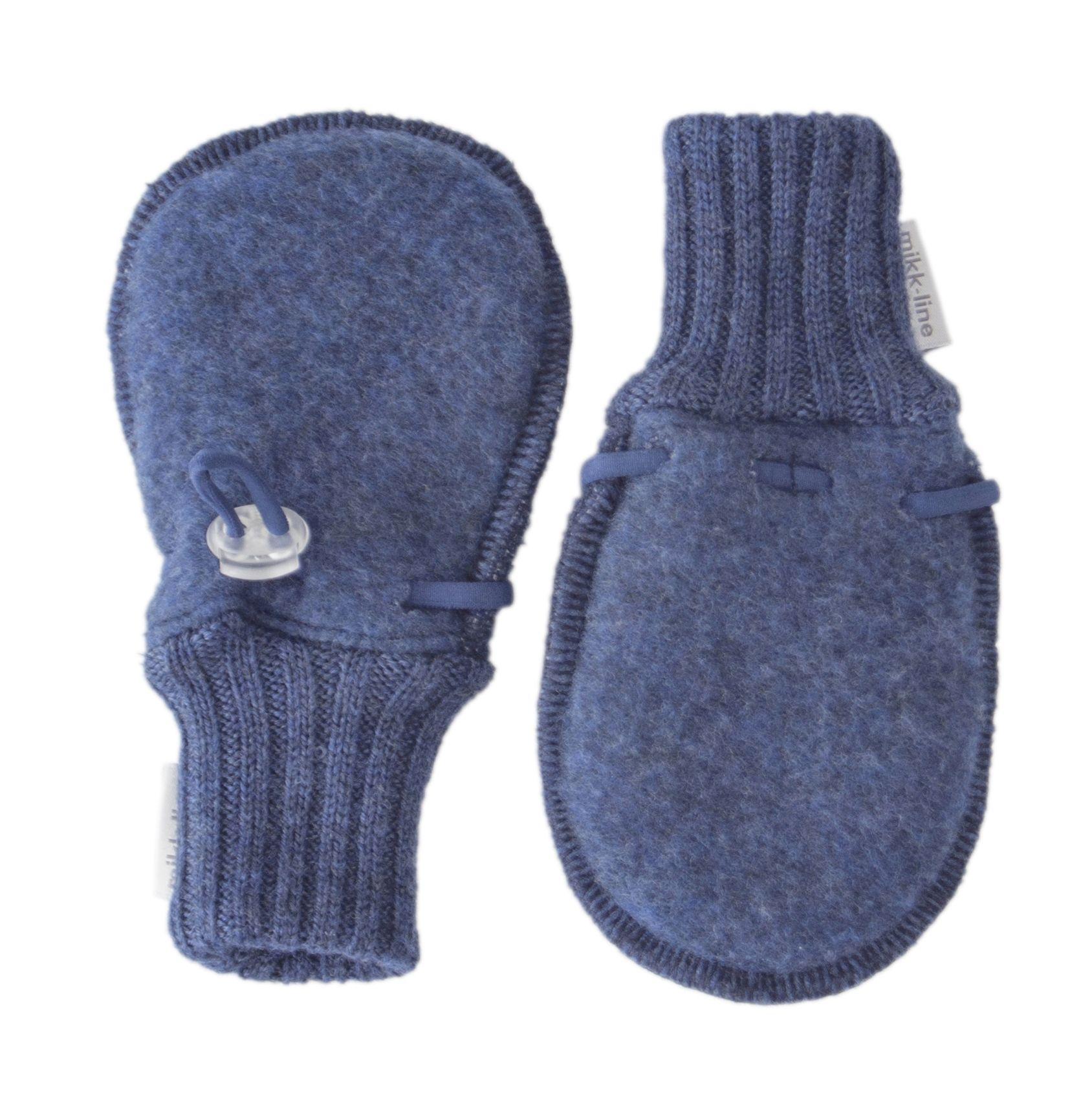 Image of   Luffer fra Mikk-Line - Soft Wool - Blue melange