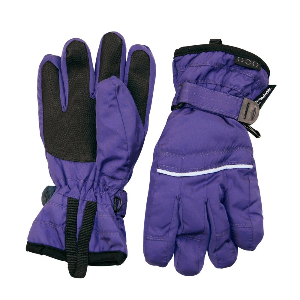 Ski handsker m. Thinsulate fra Mikk-Line - Lilla