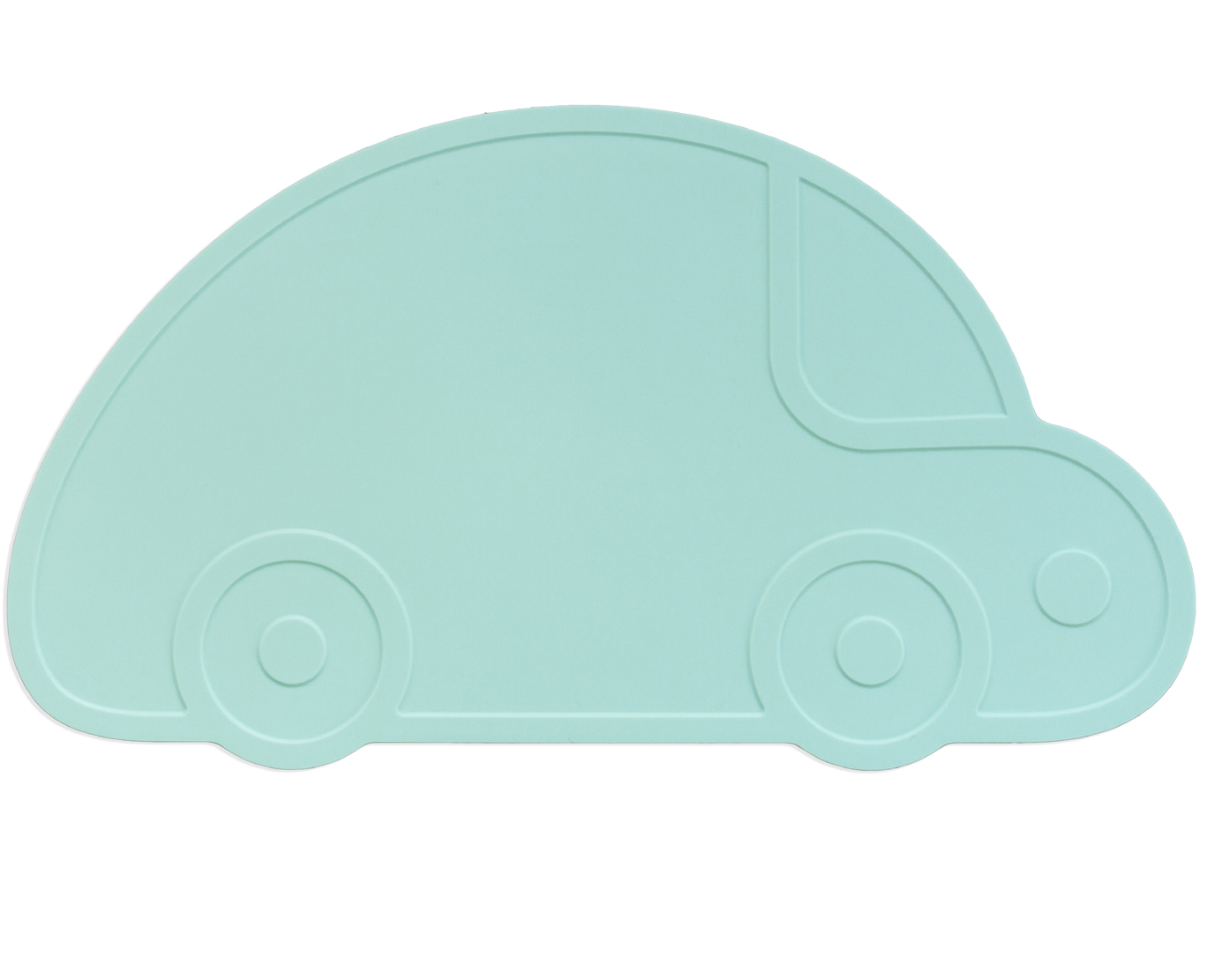 Dækkeserviet fra kg design - rally - mint fra Kg design på babygear.dk