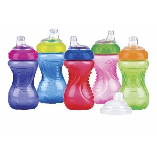 Image of Drikkeflaske fra Nuby - No-Spill, Easy Grip (300ml) (9648)