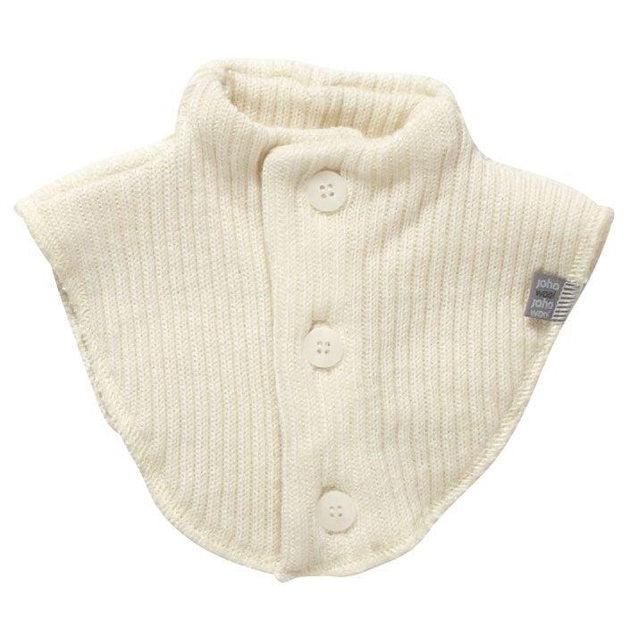 Joha – Halsedisse i baby uld (soft wool) fra joha - natur på babygear.dk