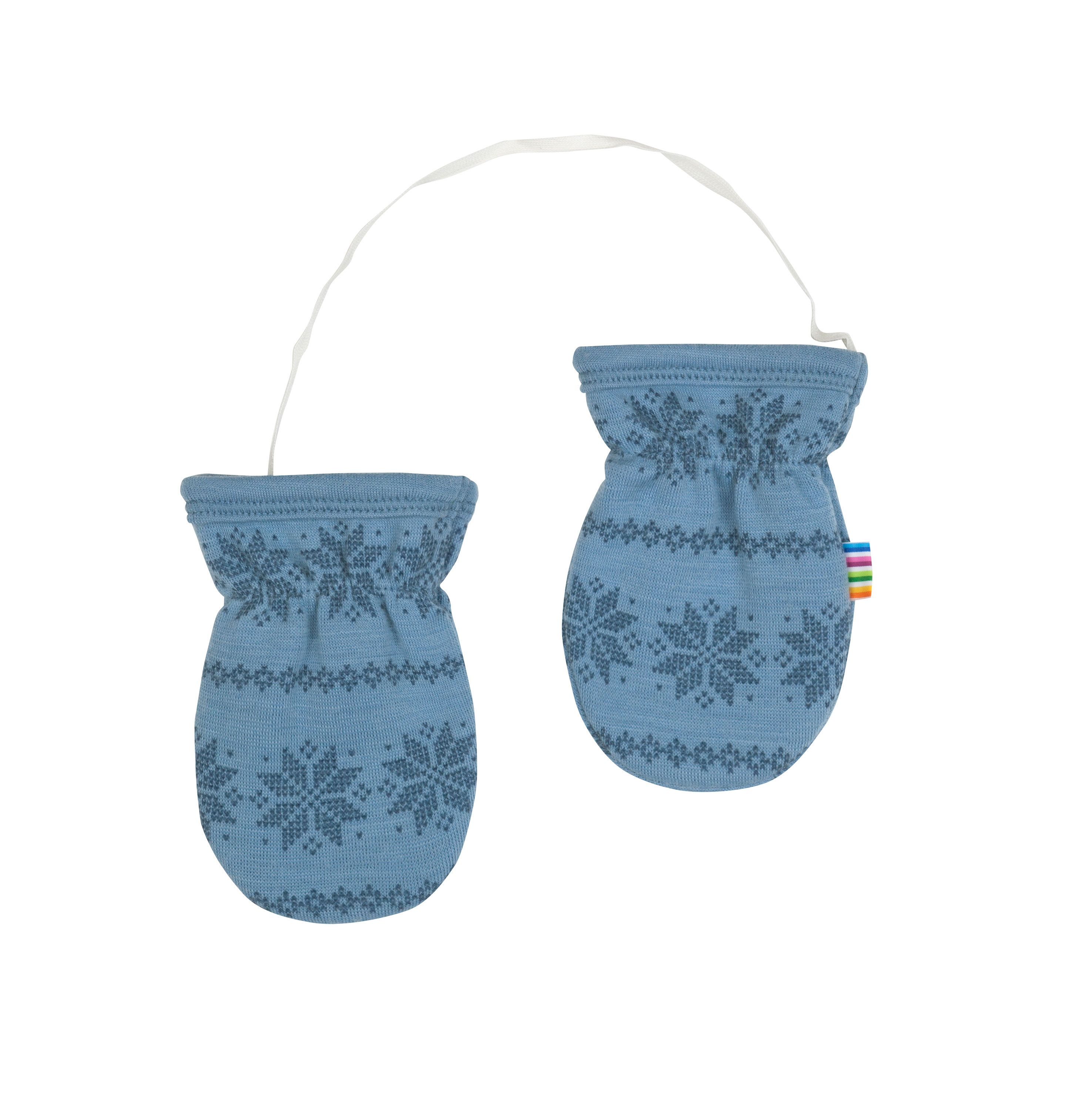 Image of   Luffer fra Joha i uld m. Blue Snowflake