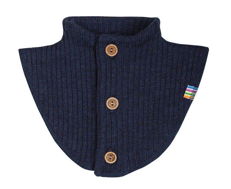 Billede af halsedisse fra Joha i uld i Navy melange