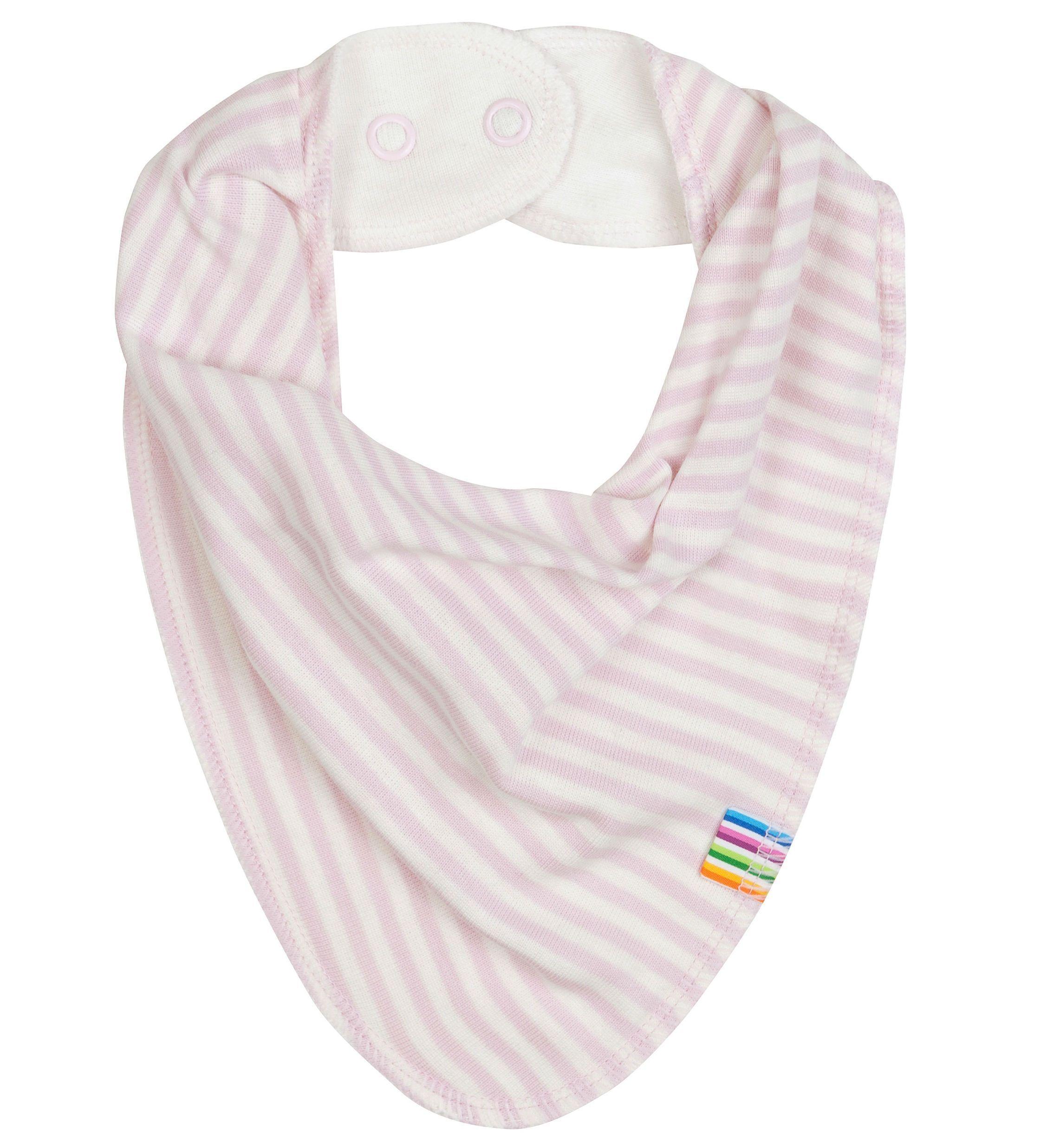 Image of   Savlesmæk fra Joha - Økologisk bomuld og uld - Rose Stripes
