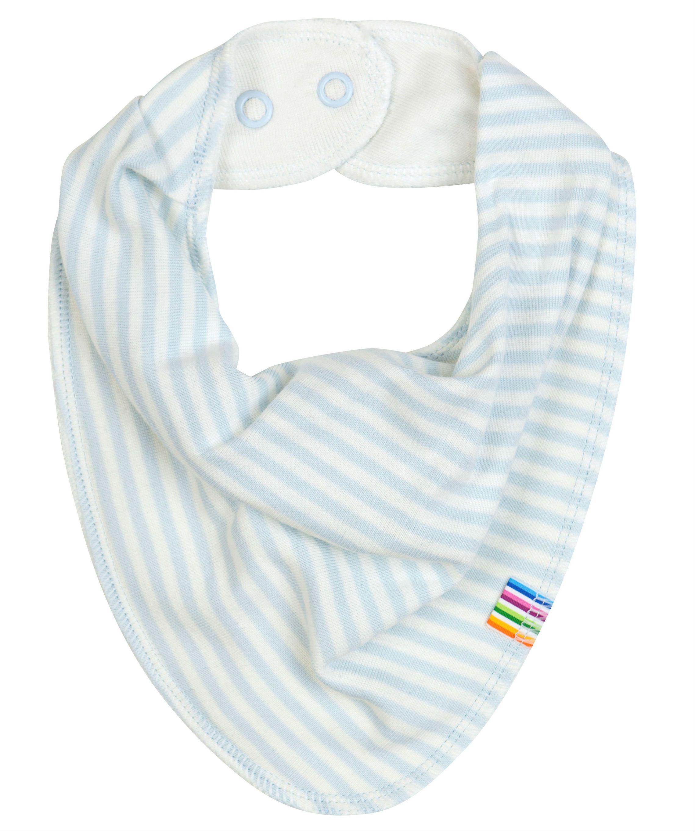 Image of   Savlesmæk fra Joha - Økologisk bomuld og uld - Blue Stripes