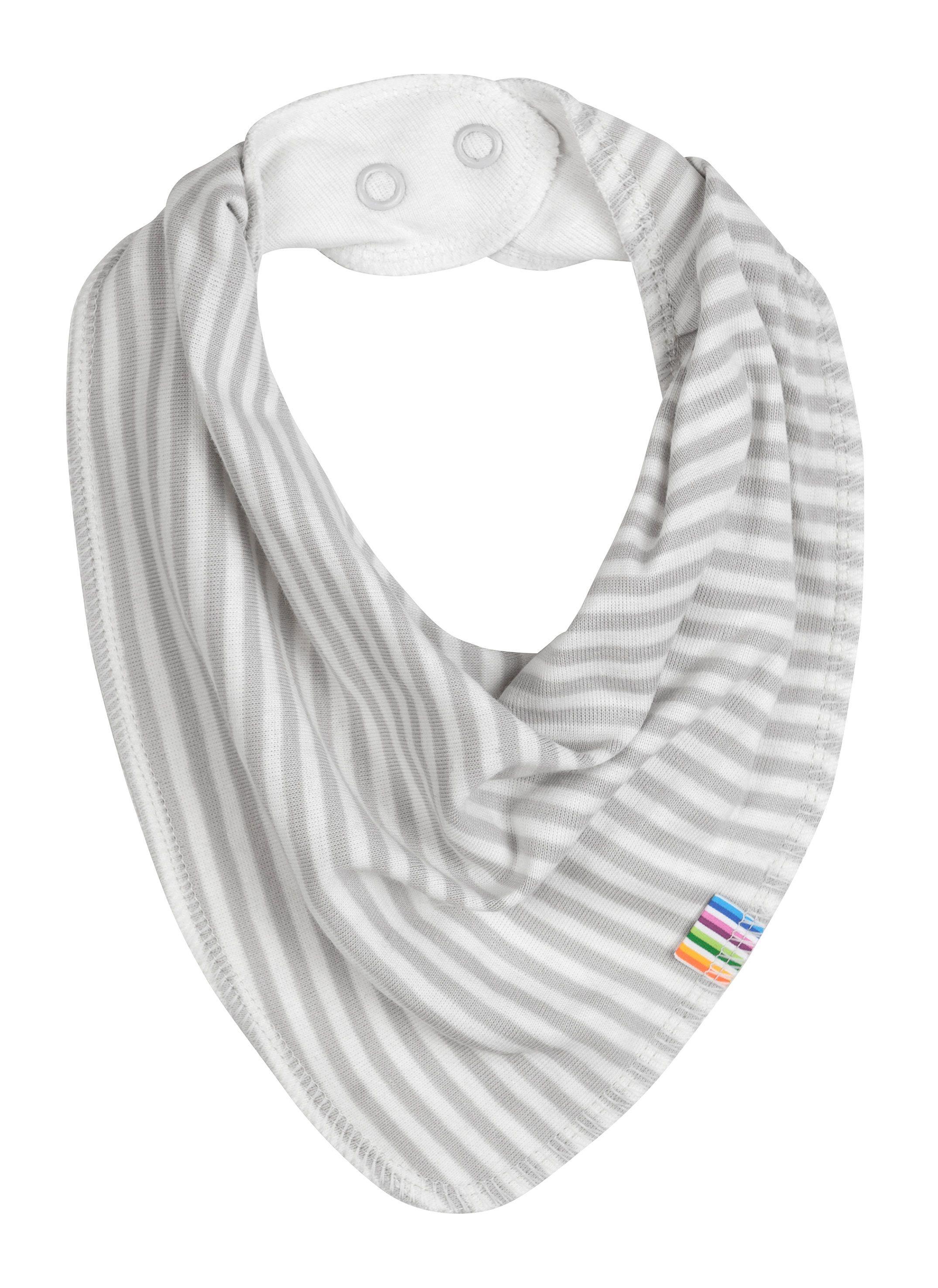 Image of   Savlesmæk fra Joha - Økologisk bomuld og uld - Grey Stripes