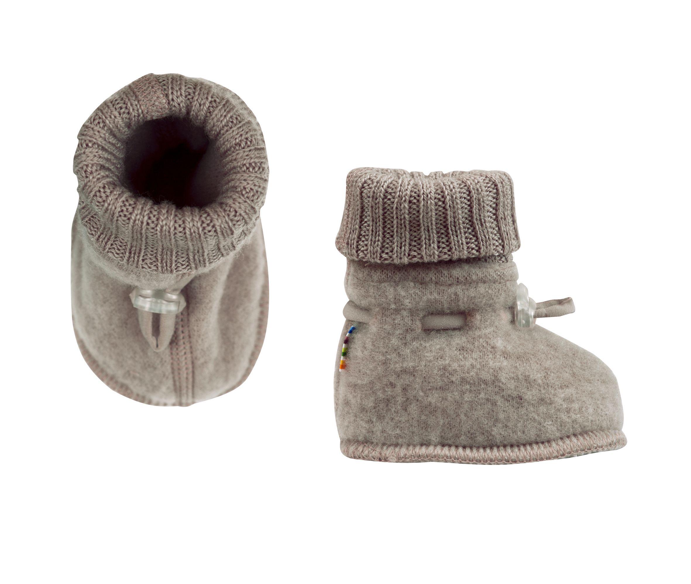 Image of Sove futter fra Joha i soft wool i Sesame Melange (97972-716-15587)