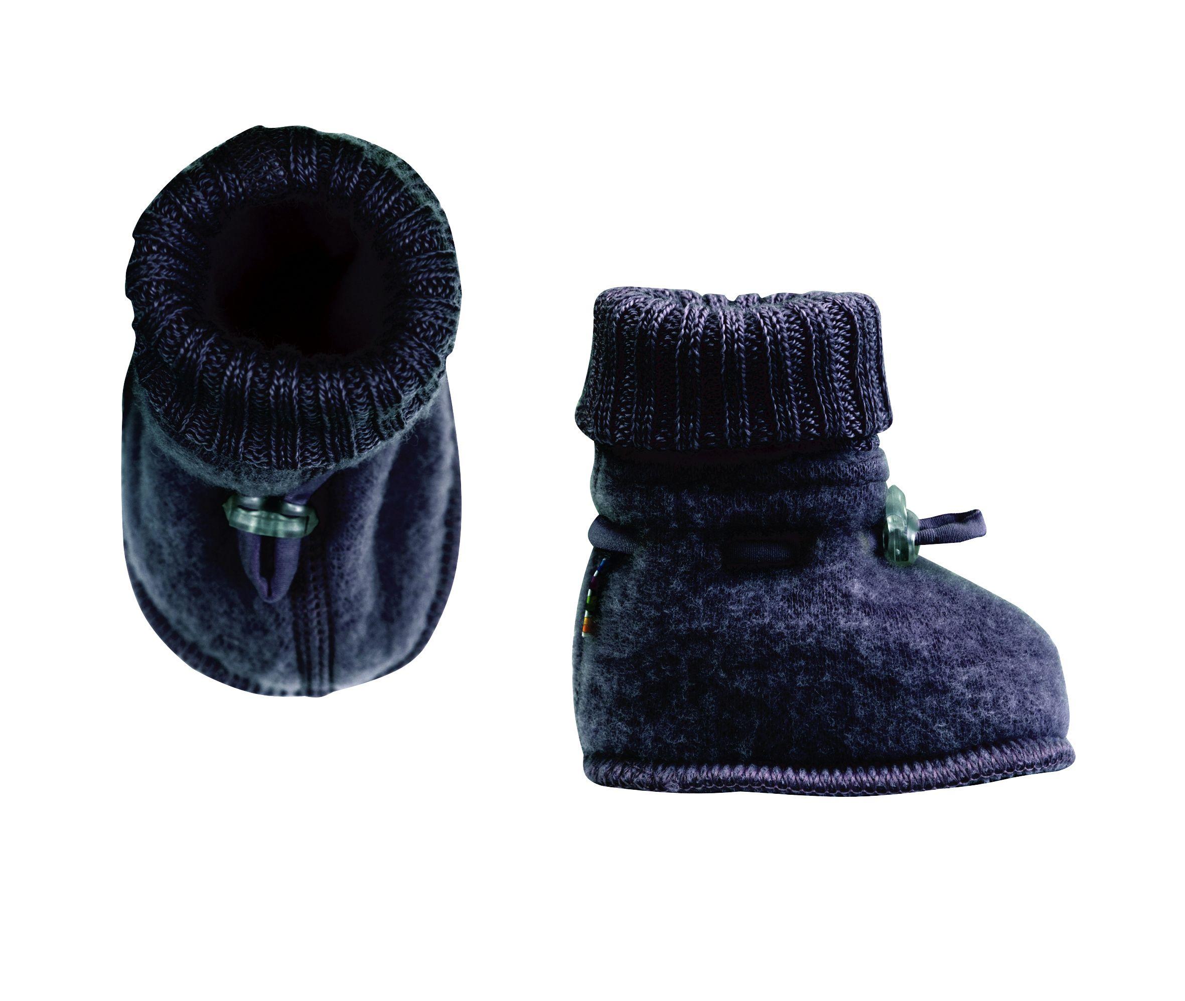 Image of Sove futter fra Joha i soft wool i Darkblue melange (97972-716-15603)