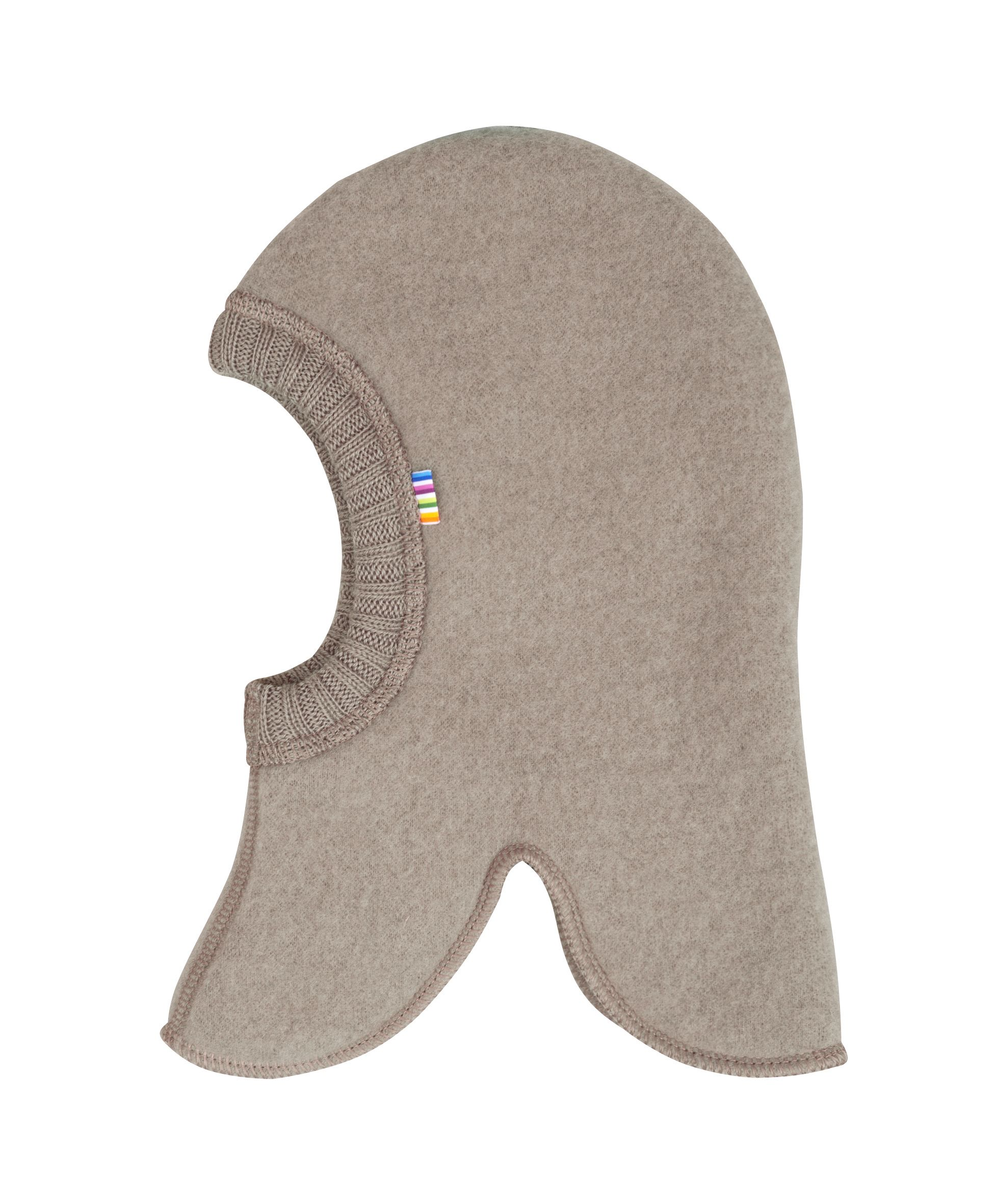 Elefanthue fra Joha i soft wool i Sesame Melange