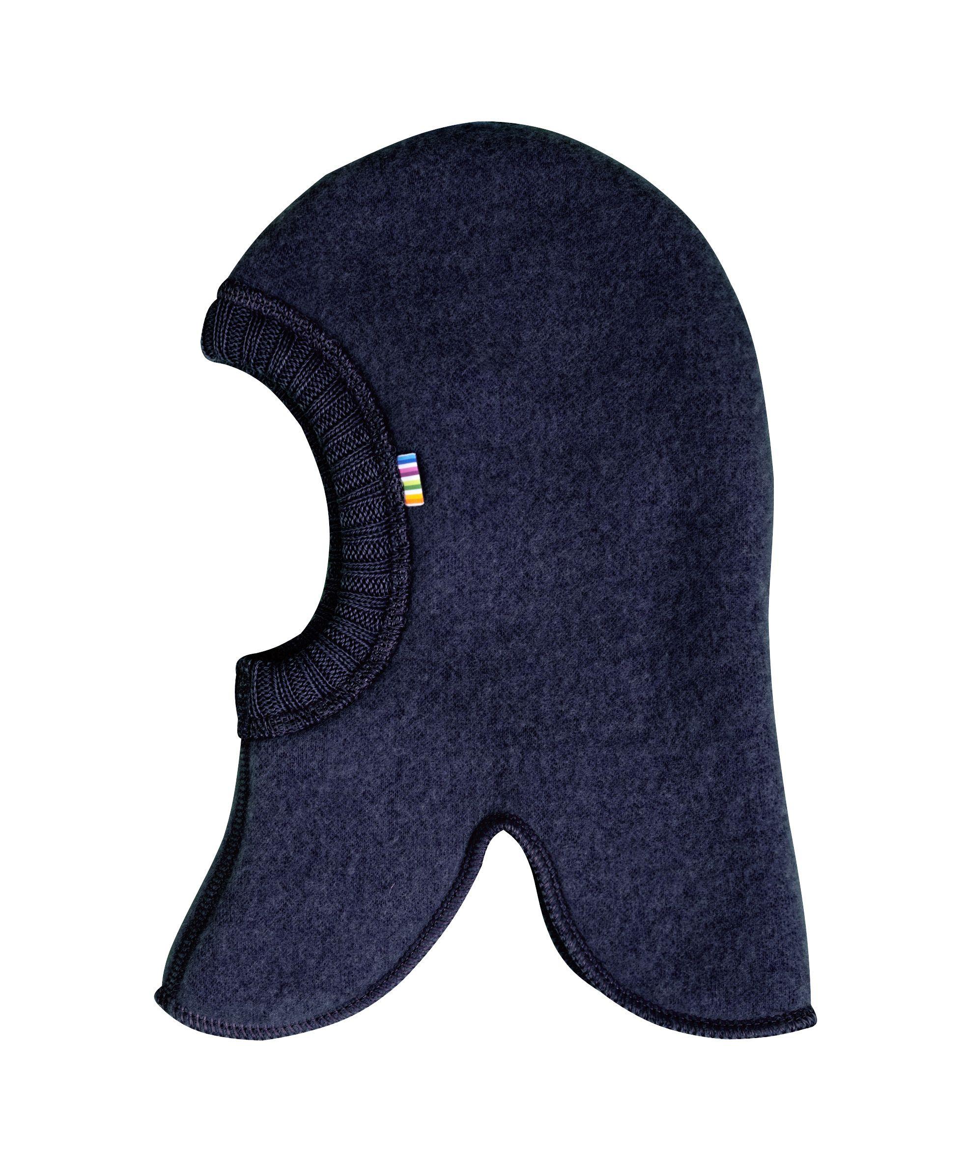 Elefanthue fra Joha i soft wool i Darkblue melange