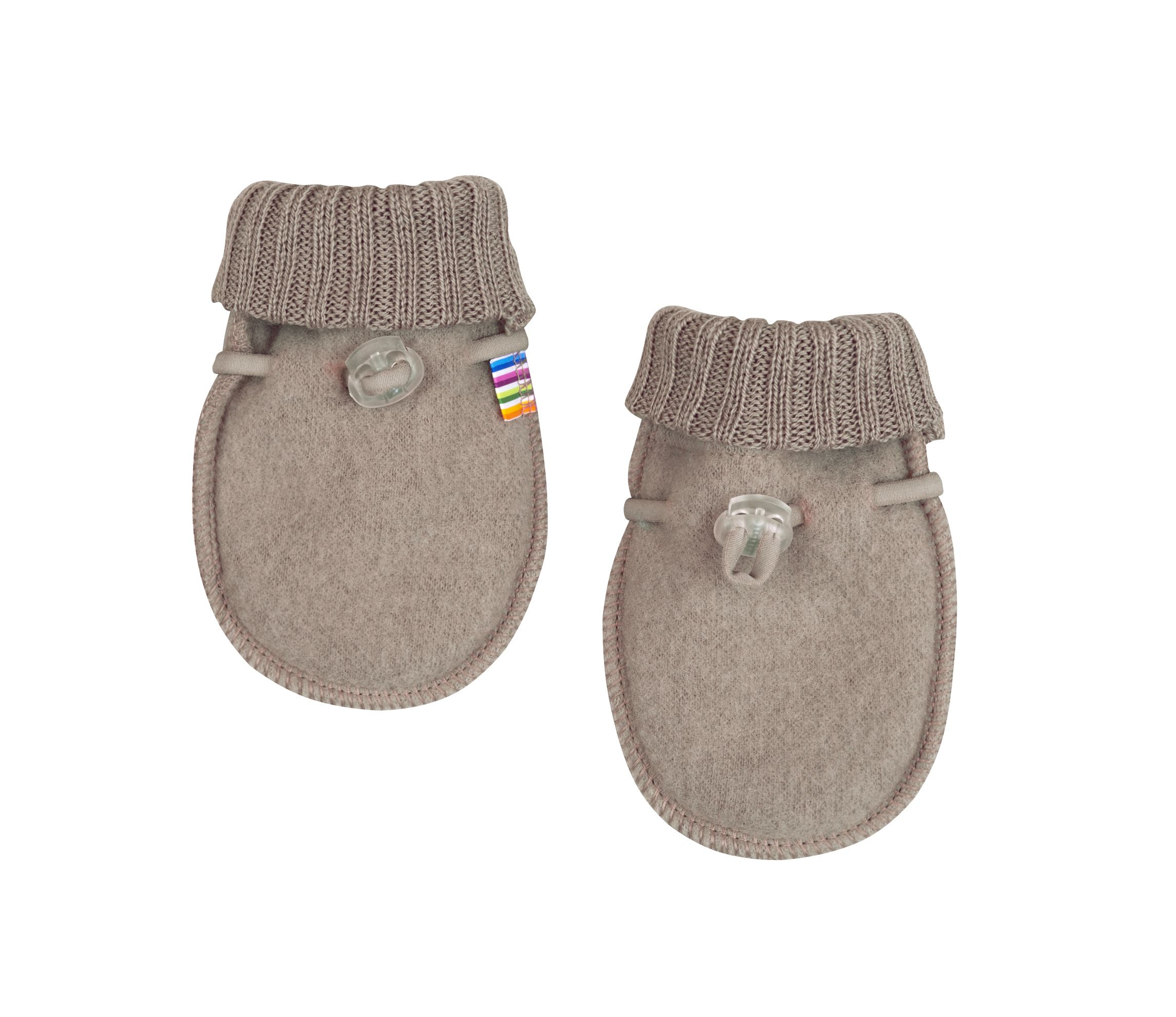 Image of   Baby Luffer fra Joha i soft wool i Sesame Melange