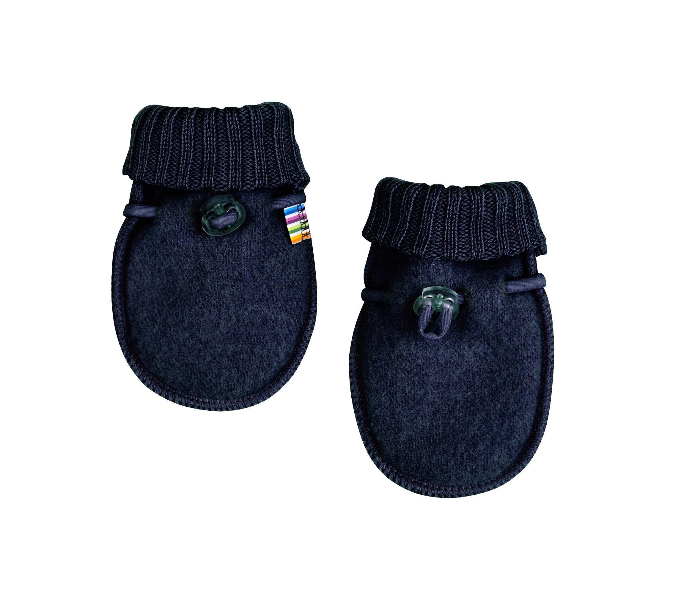Image of   Baby Luffer fra Joha i soft wool i Darkblue melange