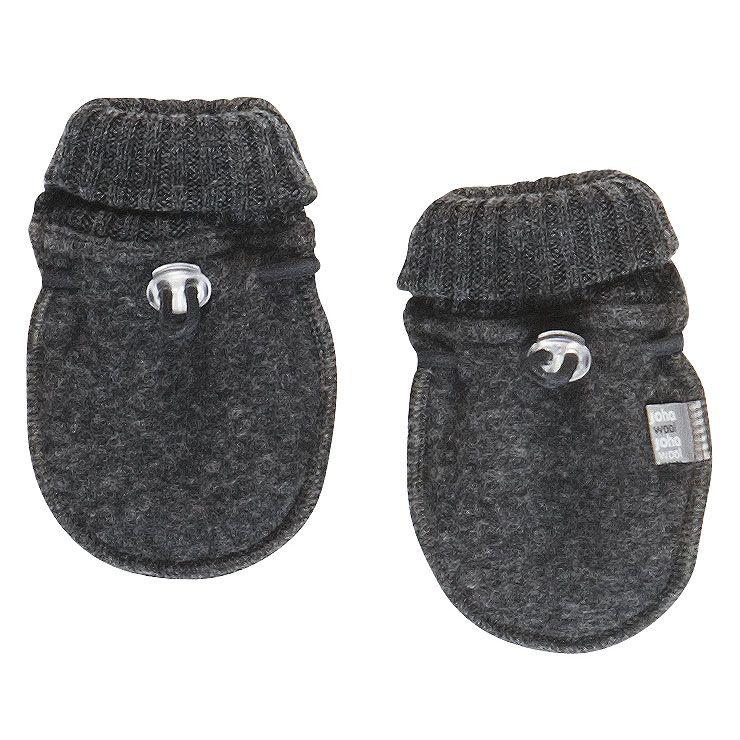 Image of   Luffer i Soft Wool fra Joha - Koksgrå