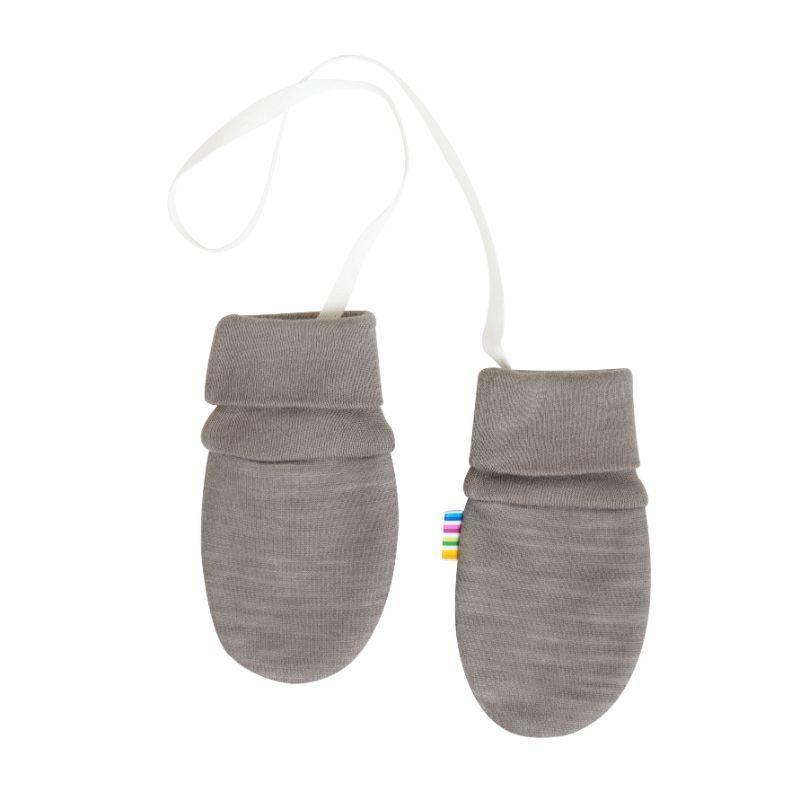 Image of   Baby vanter i uld-bomuld fra Joha - Stone melange