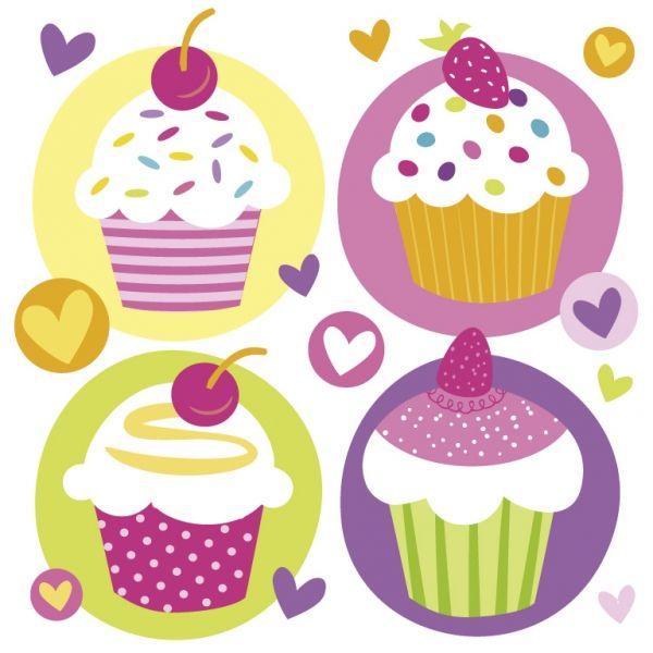 Image of Servietter - Cupcakes (20 stk) (997212)