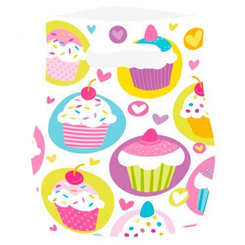 Image of Goodie bags - Cupcakes (6 stk) (997215)