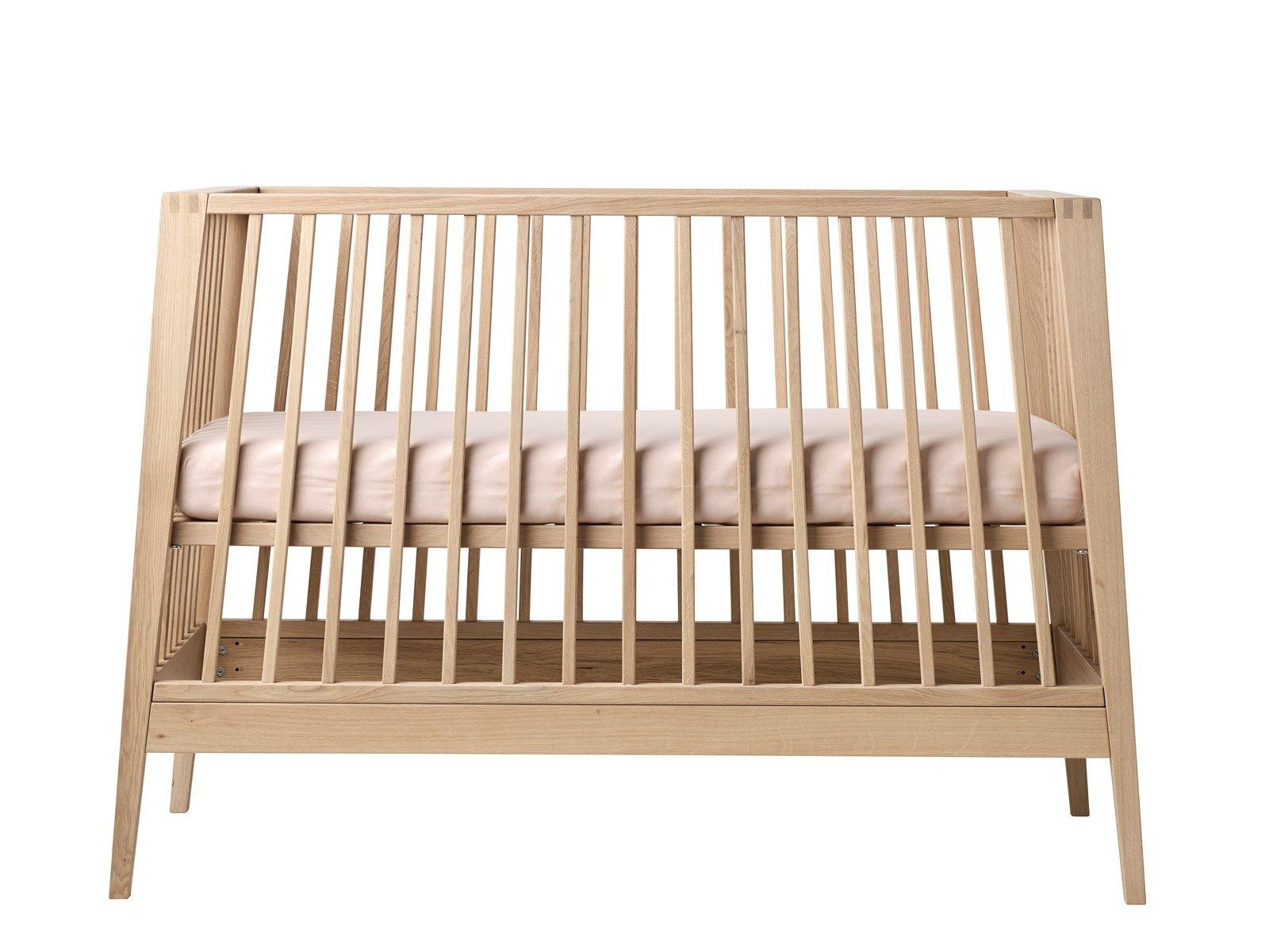 Babyseng u. madras linea by leander (bøg) fra Leander fra babygear.dk
