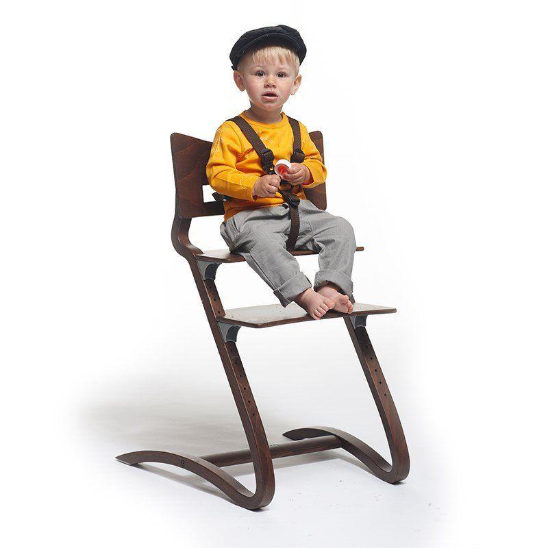Image of Sele til højstol, Brun fra Leander (305682)