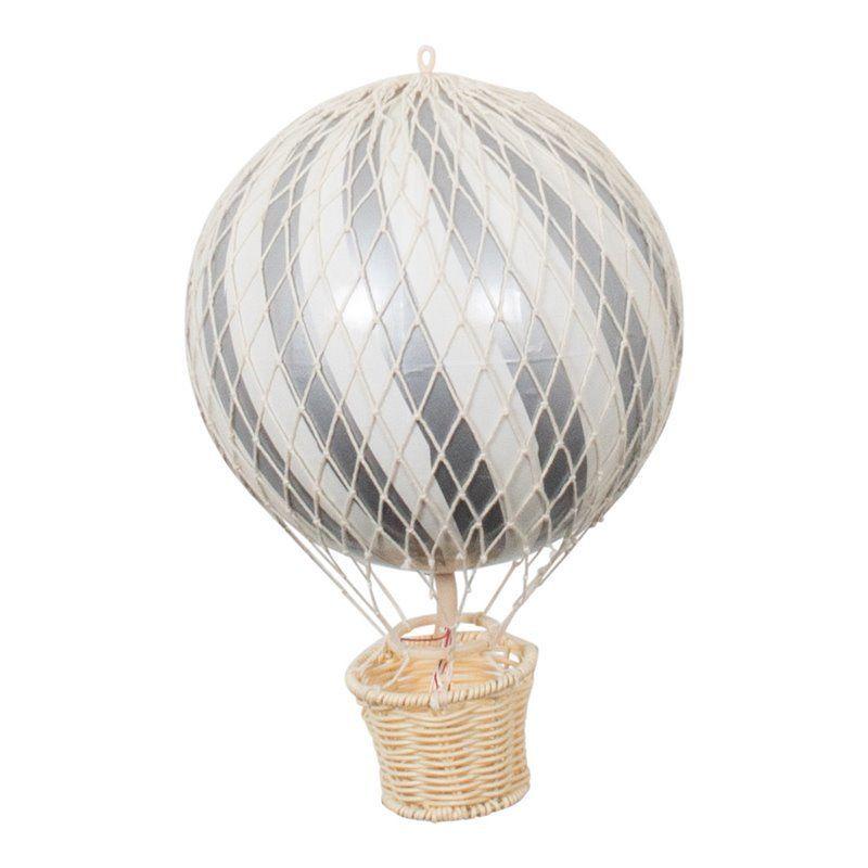 Luftballon på 20 cm fra Filibabba i Sølv