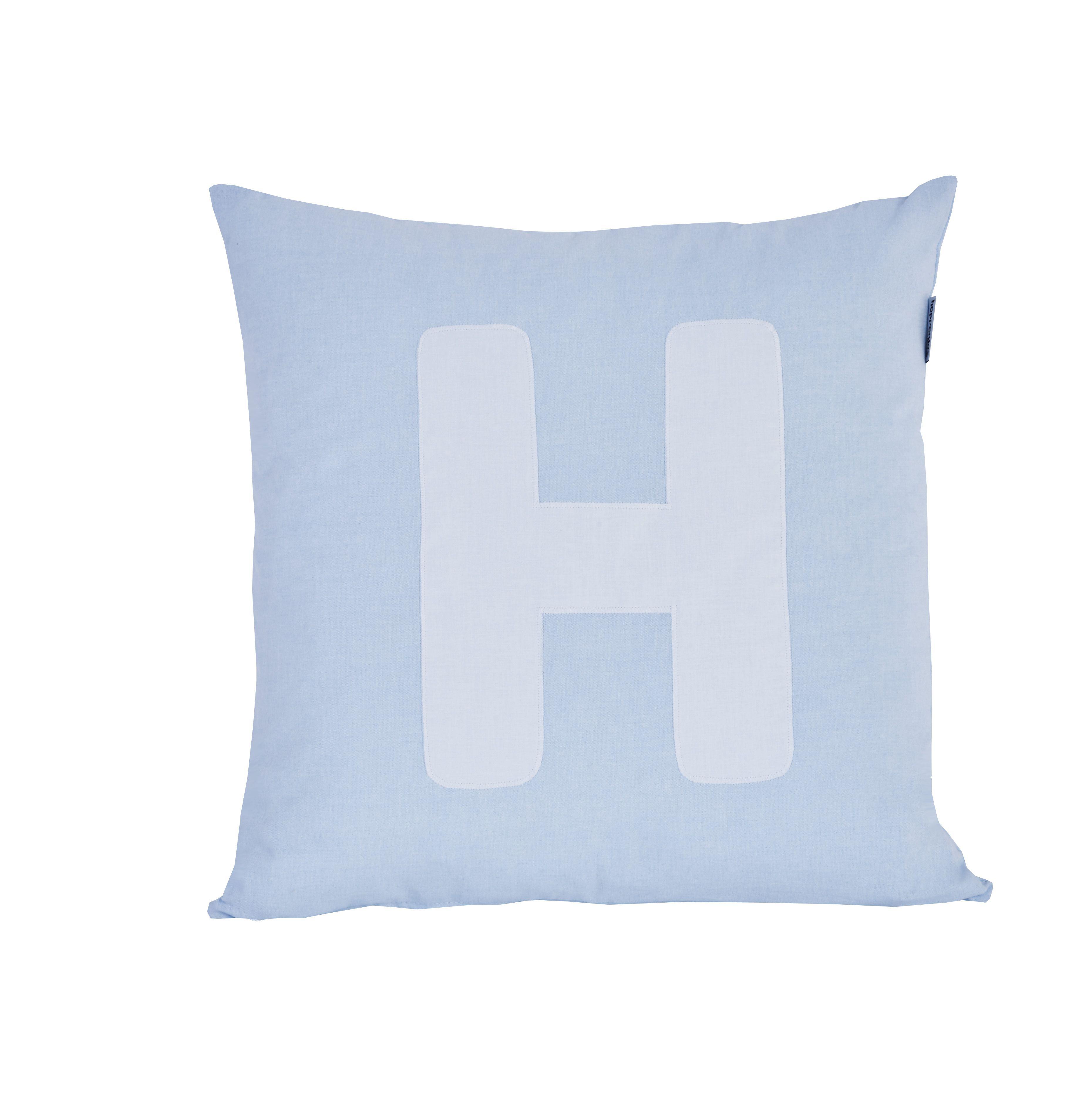 Image of Pude Alphabet H lyseblå fra Hoppekids (36-4650-LB-008)