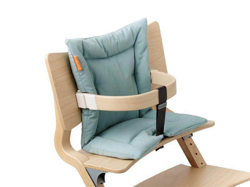 Image of Hynde til højstol, Misty bluefra Leander (305060-42)