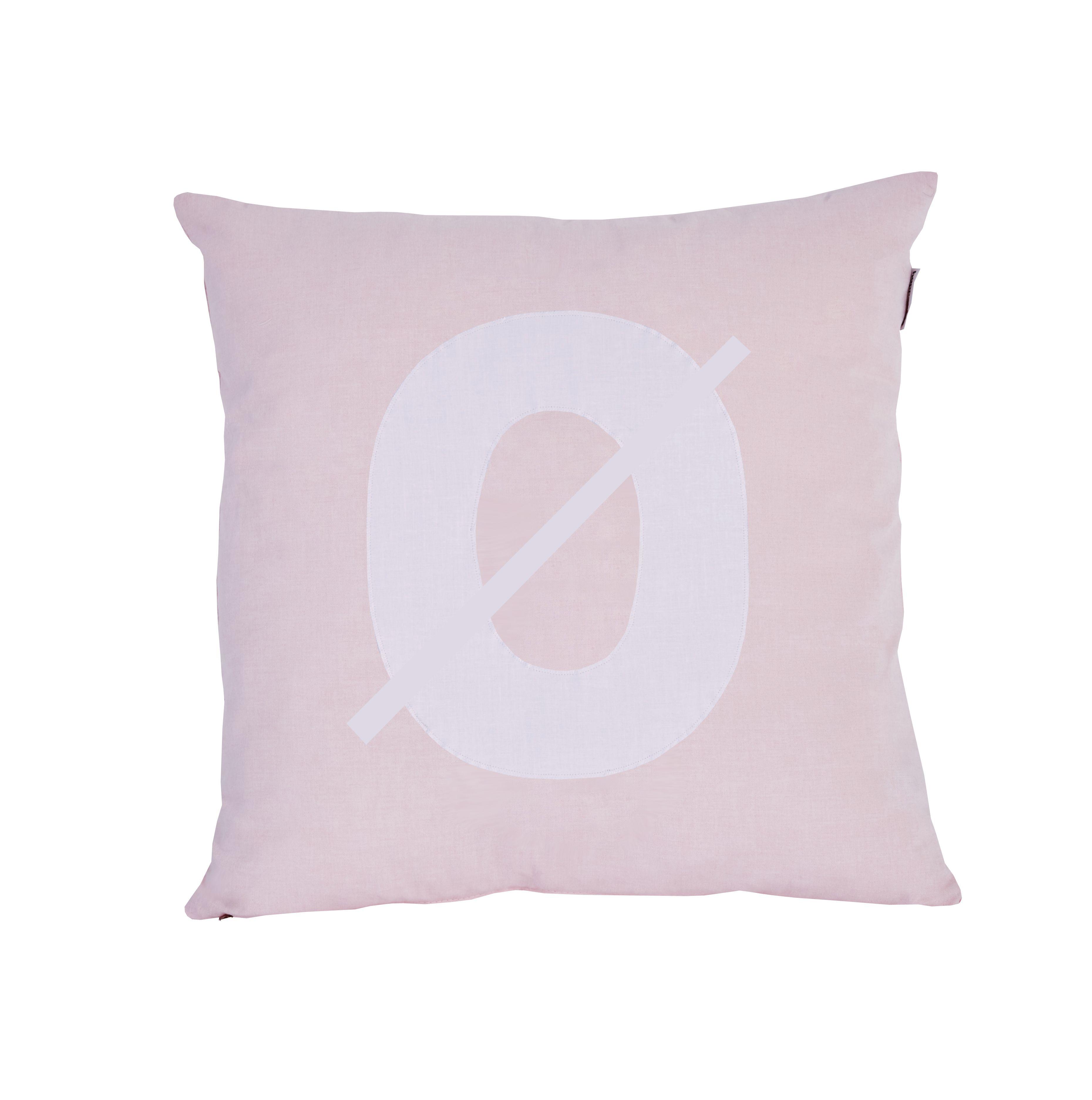 Pude Alphabet Ø lyserød fra Hoppekids