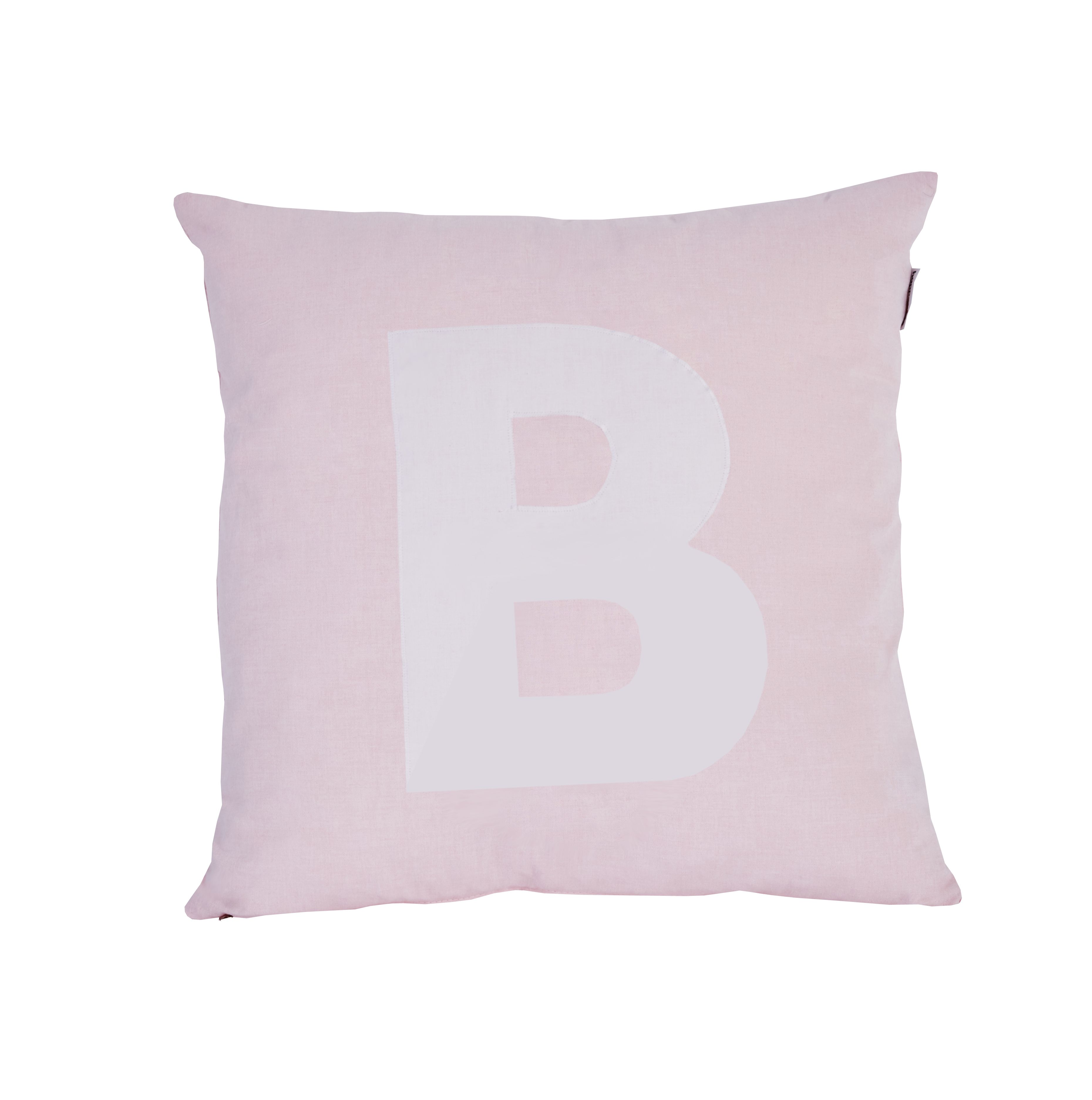 Pude Alphabet B lyserød fra Hoppekids