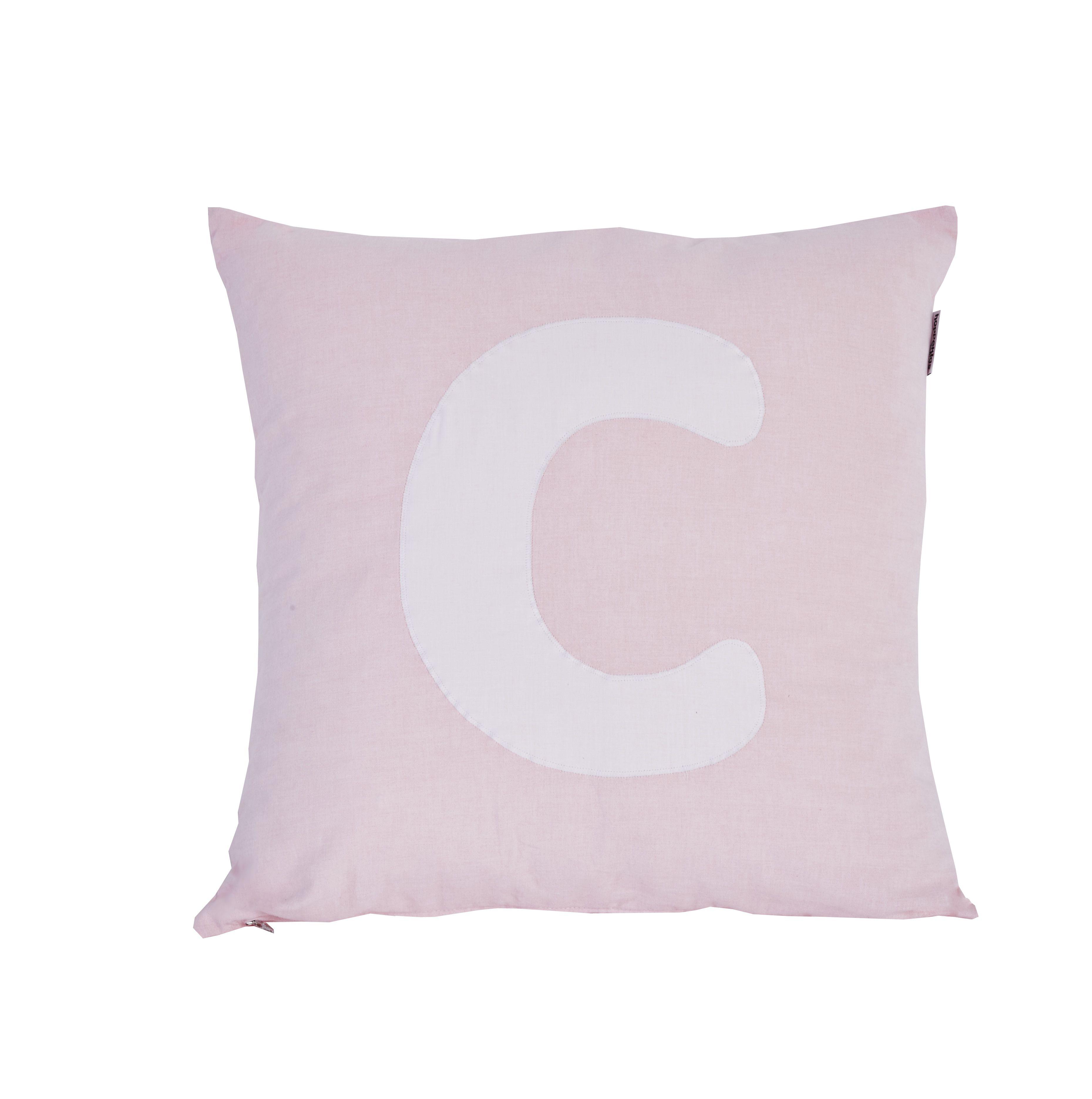 Pude Alphabet C lyserød fra Hoppekids