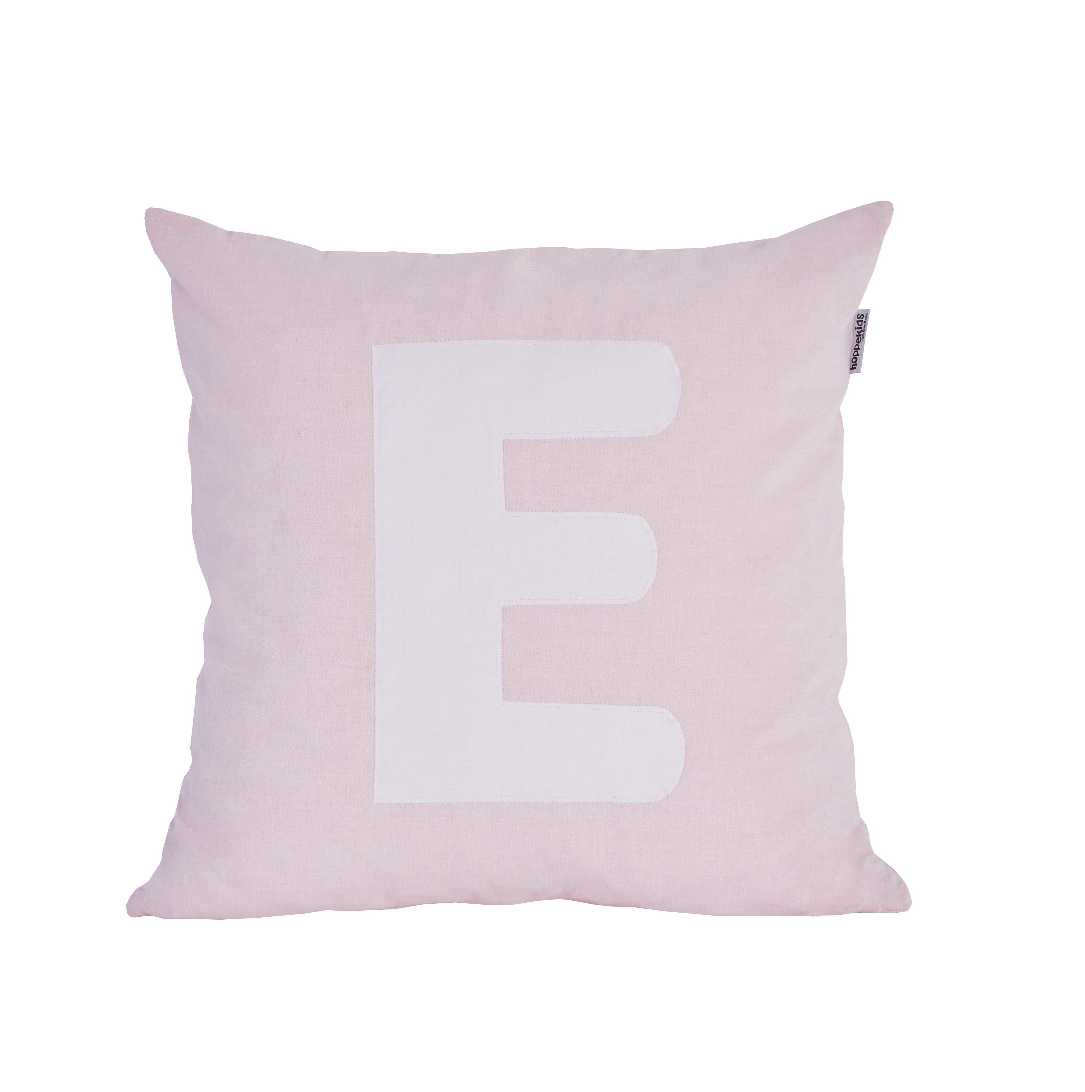 Pude Alphabet E lyserød fra Hoppekids