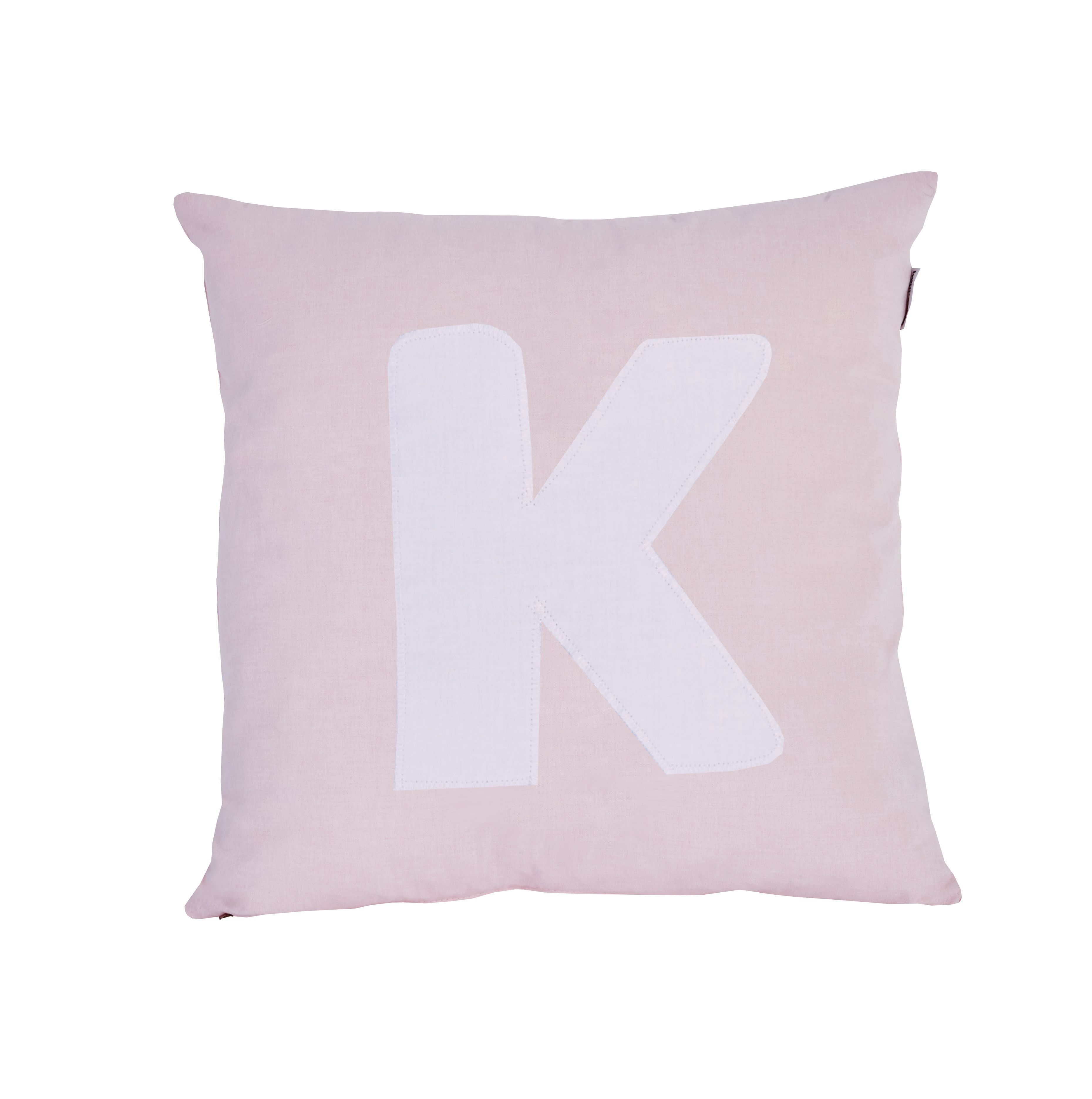 Pude Alphabet K lyserød fra Hoppekids