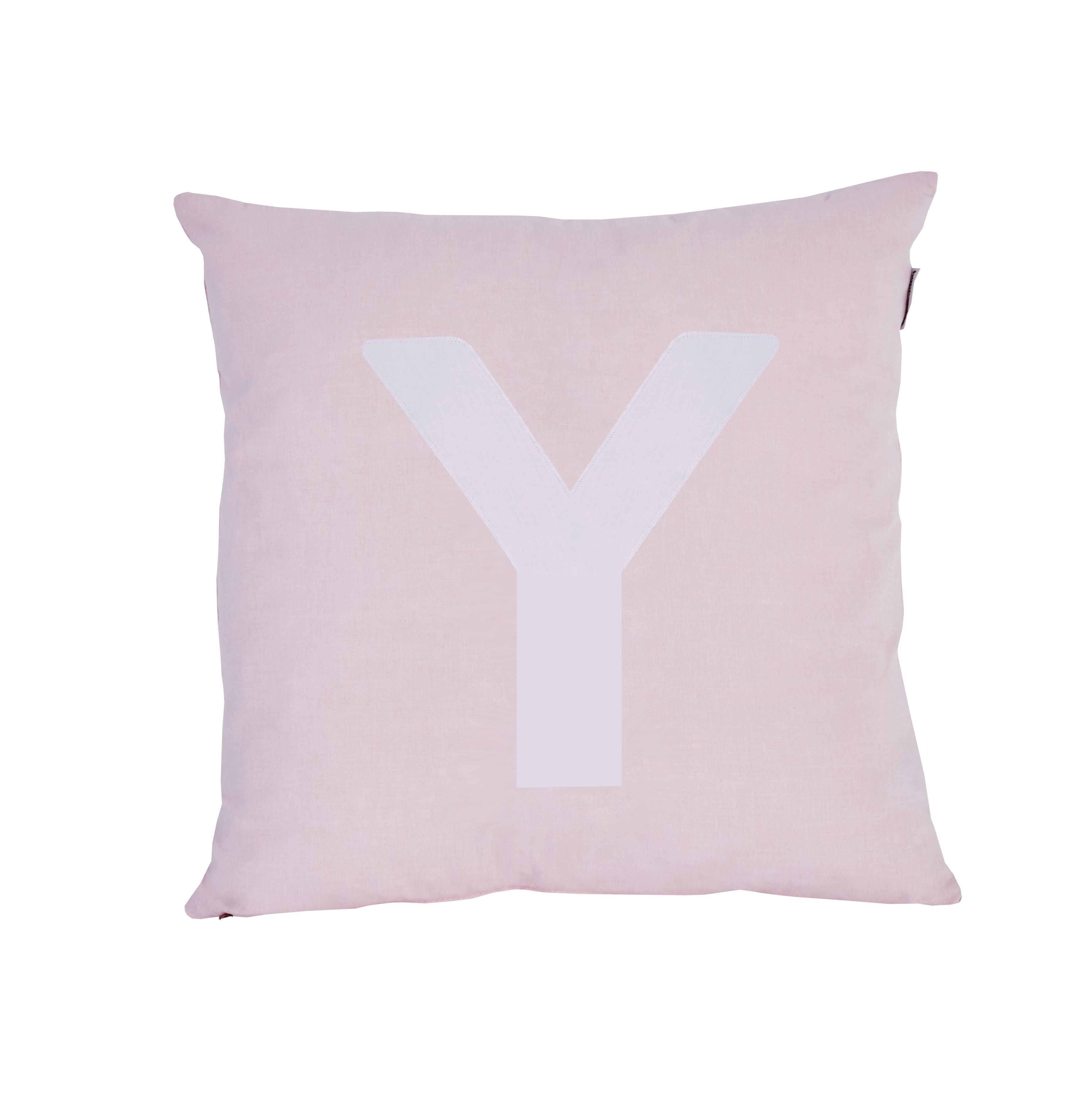 Pude Alphabet Y lyserød fra Hoppekids