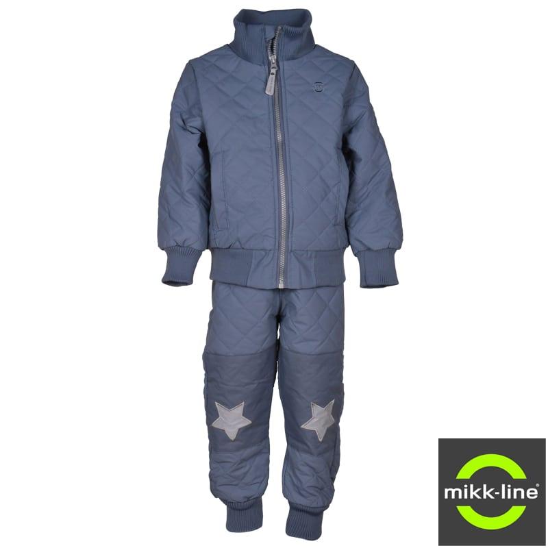 Image of   Termotøj m. fleece - Coated fra Mikk-line i China Blue