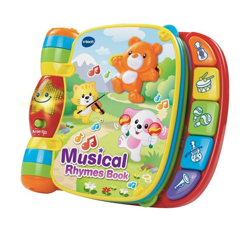 Image of Musikbog fra VTech - Musical Rhymes Book (VTC-BOK03)