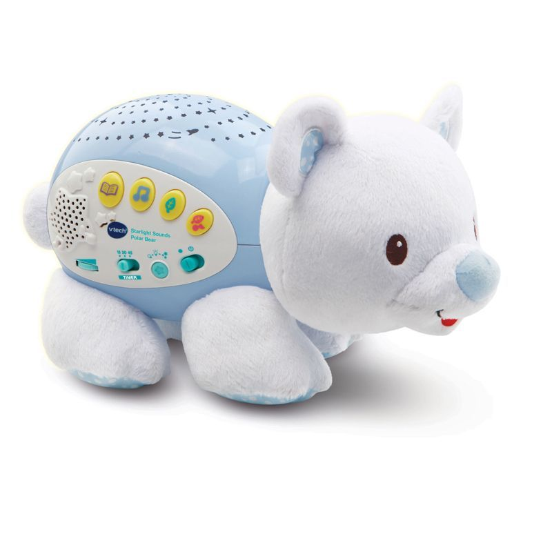 Image of Vågelampe med lys og lyd fra Vtech - Little Friendlies Starlight Sounds Polar Bear (VTC-MOB01)