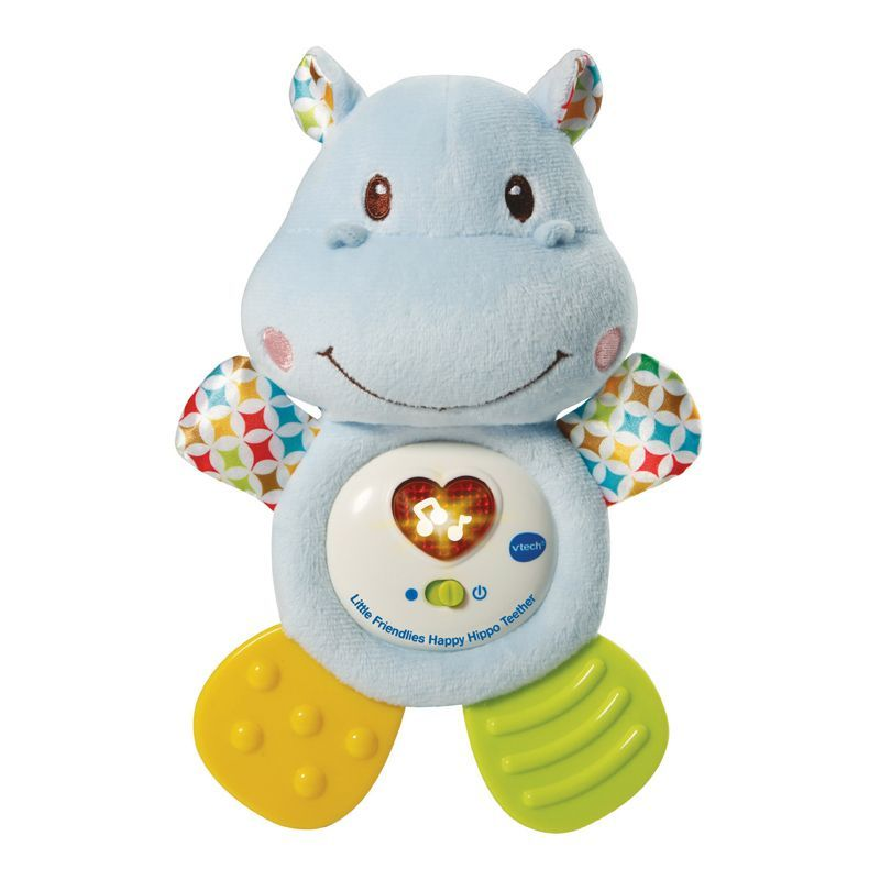 Image of Bidedyr med lys og lyd fra VTech - Little Friendlies Happy Hippo Teether (VTC-TOY11)