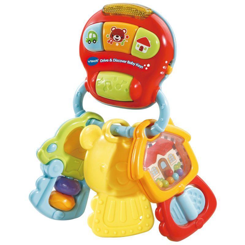 Image of Babynøgler fra VTech - Drive og Discover Baby Keys (VTC-TOY12)
