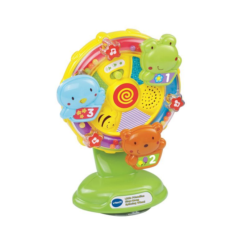 Image of Aktivitetshjul fra Vtech - Little Friendlies Sing-Along Spinning Wheel (VTC-TOY15)