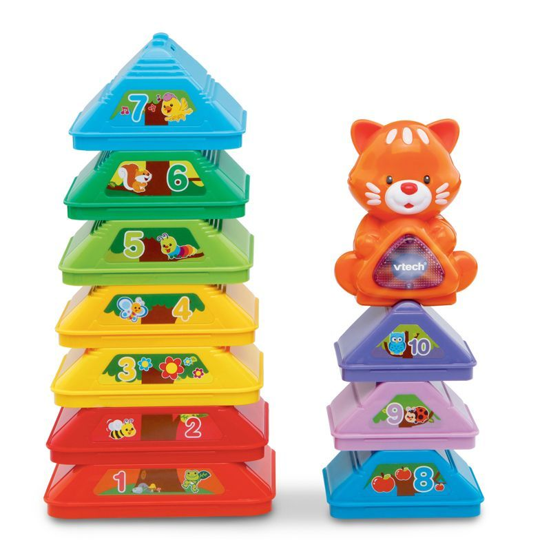 Image of Stabellegetøj fra Vtech - Stack, Sort and Store Tree (VTC-TOY19)