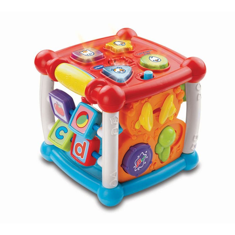 Image of Aktivtetetsterning fra VTech - Turn og Learn Cube (VTC-TOY23)