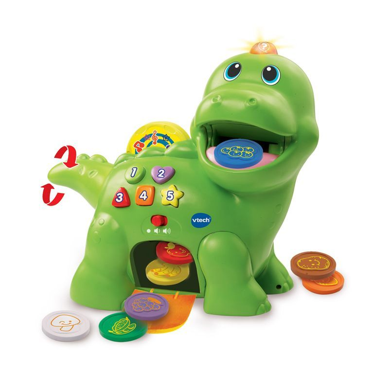 Image of Interaktiv dino fra VTech - Feed Me Dino (VTC-TOY27)