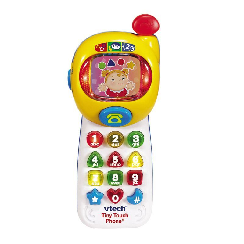 Image of Interaktiv mobiltelefon fra VTech - Tiny Touch Phone (VTC-TOY33)