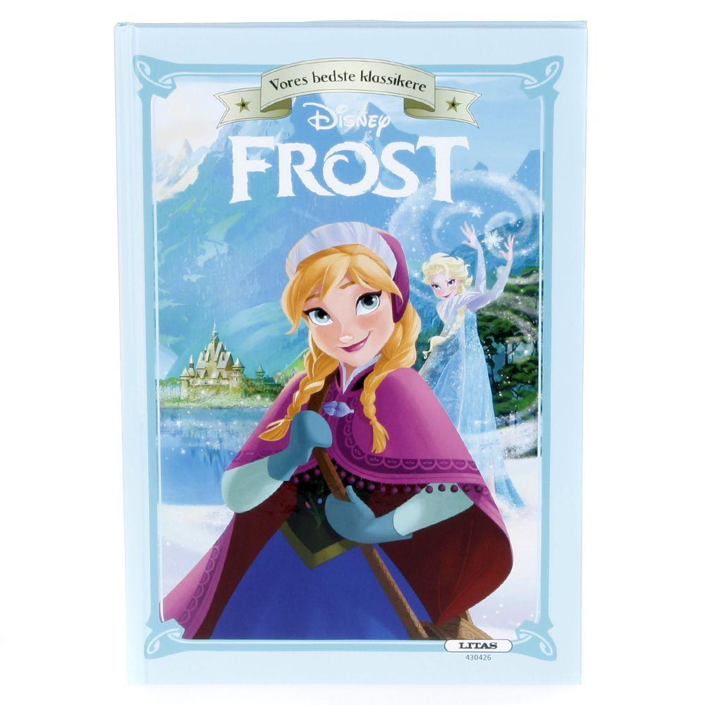 Image of   Børnebog - Disney klassiker - Frost (Frozen)