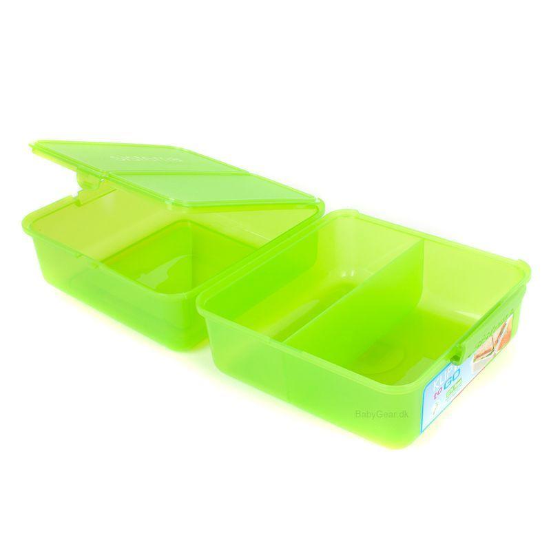 Image of   Madkasse Lunch Cube fra Sistema - Grøn