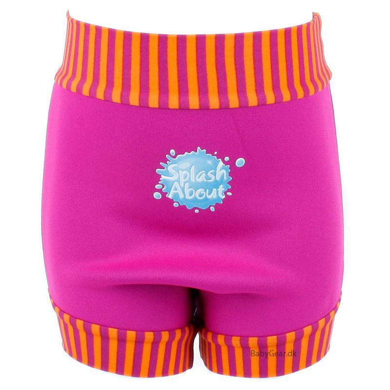 Splash about Blebadebukser fra splash about - classic - pink mango fra babygear.dk