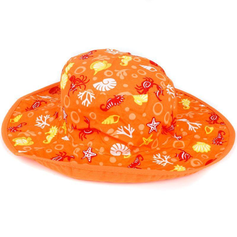 Image of   Solhat (vendbar) - Baby Banz - Orange Havdyr
