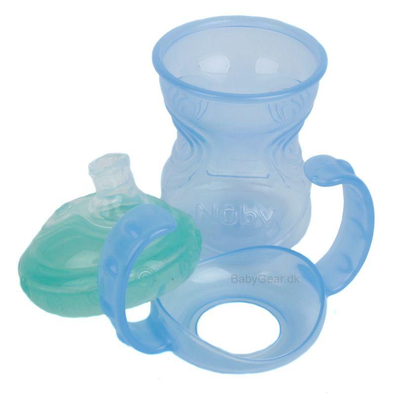 Image of Drikkeflaske fra Nuby - 4-i-1 - No-spill™ (6+ mdr.) (04852609895)