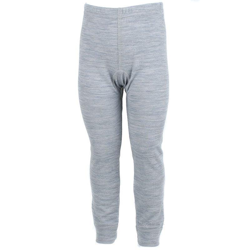 Uld leggings / natbukser fra joha - uld / bomuld - grå fra Joha fra babygear.dk