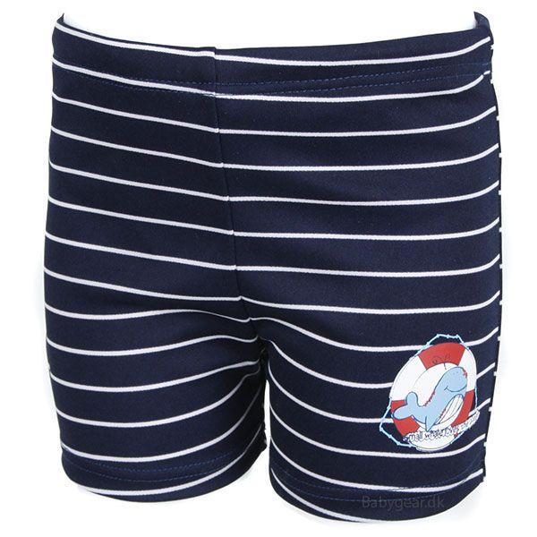 Image of   Ble badebukser fra Fashy - Shorts - Navy / White Stripe