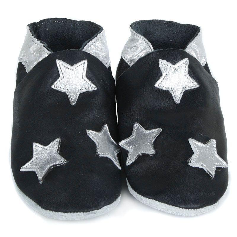 Image of Hjemmesko fra CeLaVi - Black Silver Star (705051-106-)