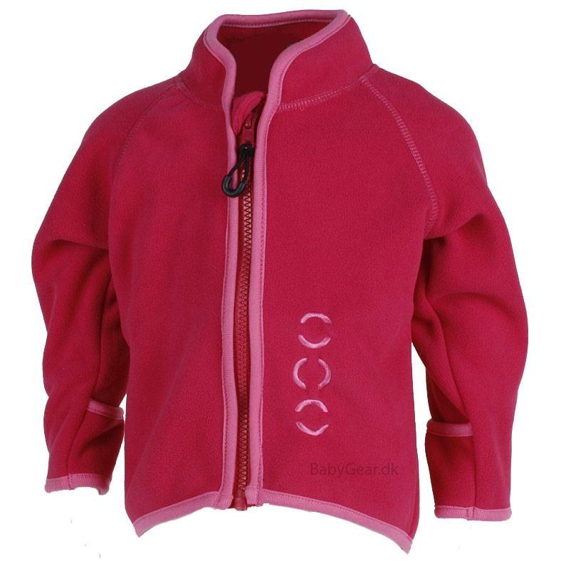 Image of Fleece trøje fra Mikk-Line - Baby - Hindbær Pink (2000-523)